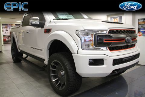 New 2019 Ford F-150 Official Harley Davidson Truck 4WD 4D SuperCrew