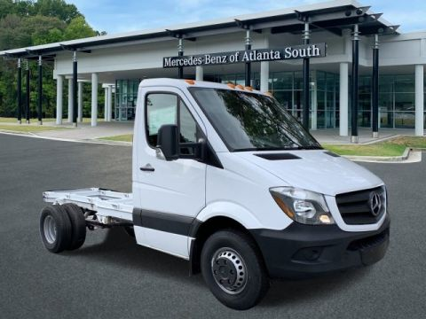 2018 Mercedes-Benz Sprinter 3500 Cab Chassis 144 WB